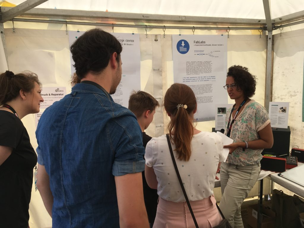 BesucherInnen Maker Faire Berlin 2018